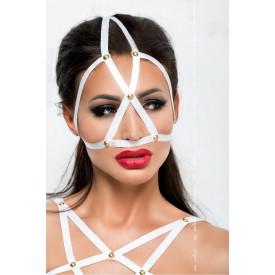 Маска из стреп-лент на верхнюю часть лица