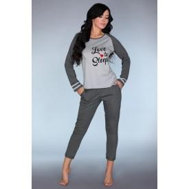 Мягкая пижамка с принтом Linza